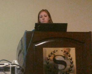 Erica Beneze at ASA Seattle